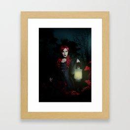 I am the wolf Framed Art Print