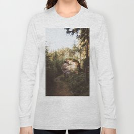 Forest trail - Landscape and Nature Photography Long Sleeve T-shirt