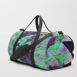 Oval with triangles Duffle Bag
