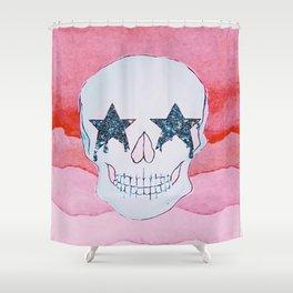 star skull Shower Curtain