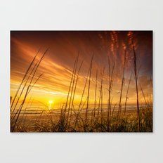 Sunrise from the Dunes at the Outer Banks, North Carolina Canvas Print
