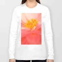 dahlia Long Sleeve T-shirts featuring Dahlia by chantal & james photography