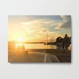 Quiet sunset Metal Print