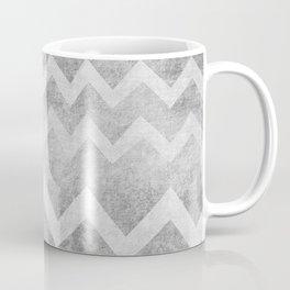 Concrete Chevron Coffee Mug