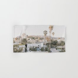 Hollywood California Hand & Bath Towel