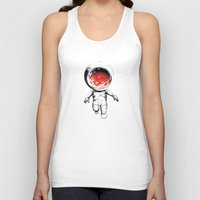 mars Tank Tops featuring Mars by Kavin G. Orantes