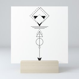 Optical Illusions Mini Art Print
