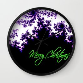 Stars for a Bright Christmas Wall Clock