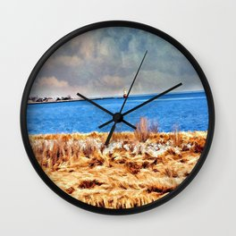 Harbor of Tranquility  Wall Clock