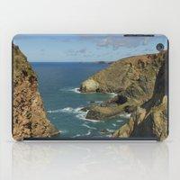 agnes cecile iPad Cases featuring Cornish Seascape St Agnes  by Cornish Seascapes