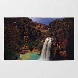 Havusu Falls at Night Rug