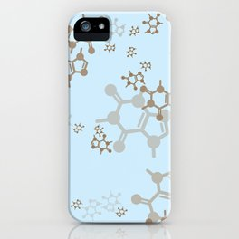 caffeine blues iPhone Case