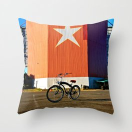 Nostalgic view Throw Pillow