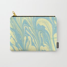 Marble of Yellow & Green Carry-All Pouch