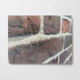 Bricks Bricks Bricks Metal Print