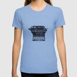 Vintage Underwood Typewriter linocut T-shirt