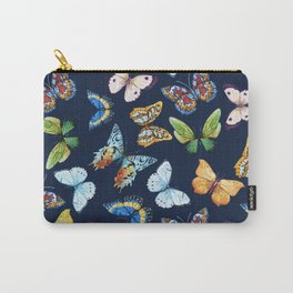 Butterfly Pattern 03 Carry-All Pouch