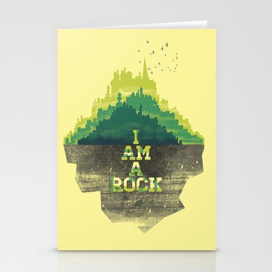 I am a Rock Stationery Cards