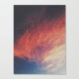 devilish skies Canvas Print