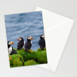The Puffins of Mykines in the Faroe Islands X Stationery Cards