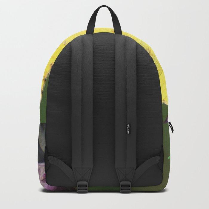 Orange Sulphur Butterfly Backpack