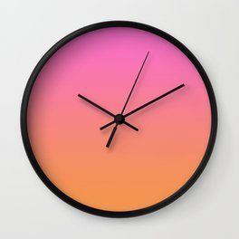 Ombré Sunset  Wall Clock