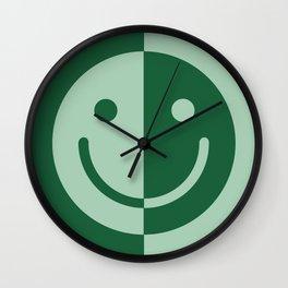 Happy Sage Wall Clock