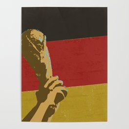 Germany Football Cup Champions Poster