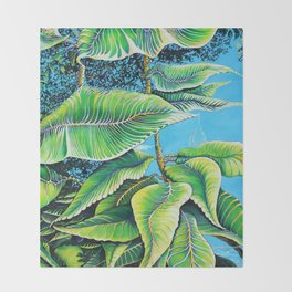 Julie's Jungle Throw Blanket