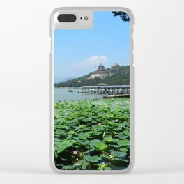 Summer Palace China Clear iPhone Case
