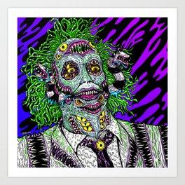 Monster Ghost Art Print