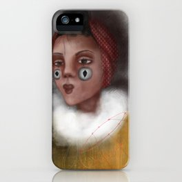 Paulina, the Clown iPhone Case