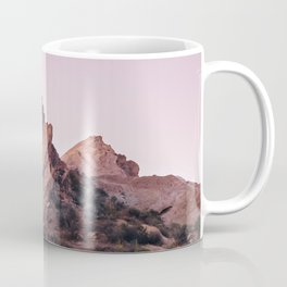 Desert Landscape at Magic Hour Coffee Mug