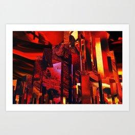 Q-City Six Art Print