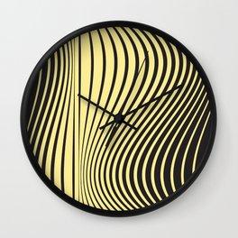 Animal print geometric lover Wall Clock
