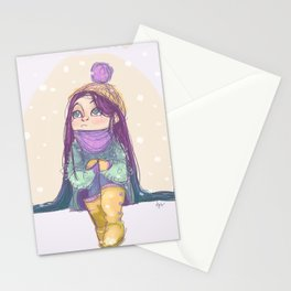 Winter! Stationery Cards