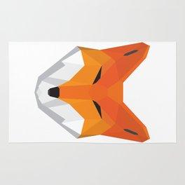 Polygonal Fox Rug