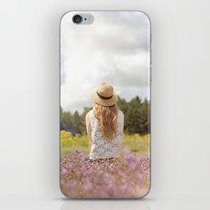 Sea Lavender iPhone & iPod Skin