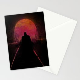 Bat-man: The dark hero Stationery Cards