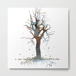 Death Tree Metal Print