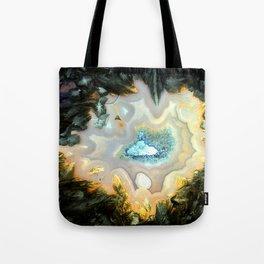 Geode Fairyland - Inverted Art Series Tote Bag