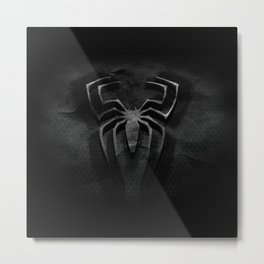 Spider Man Art Logo Metal Print