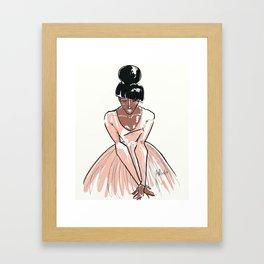 The Dancer Hope Framed Art Print