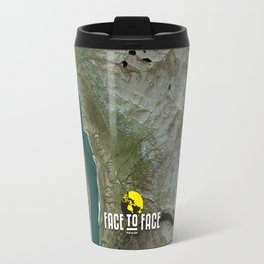 Face To Face - Ape & Man Travel Mug