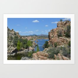 Arizona Landscape I Art Print