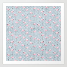 Flim Flam Flamingo Art Print