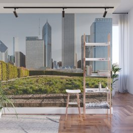 Lurie Garden One Spring Day - Chicago Photography Wall Mural