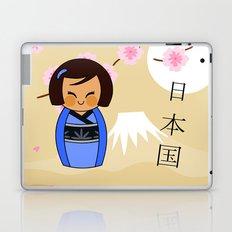 Kokeshi Mizuki Laptop & iPad Skin
