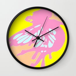Fairy With A Rose Wall Clock