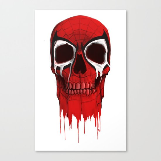 my Hero Canvas Print